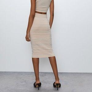 LIKE NEW Babaton Bodycon Tube Skirt